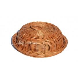 Chlebak wiklinowy okrągły