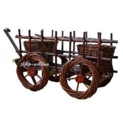 Ozdoba - Traktor wiklinowy 02