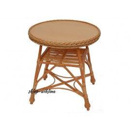 Stół wiklinowy 03