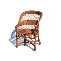 Fotel wiklinowy 05