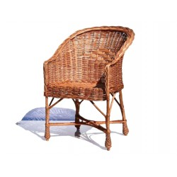 Fotel wiklinowy 08