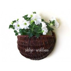 Kosz na kwiaty wiszący 02